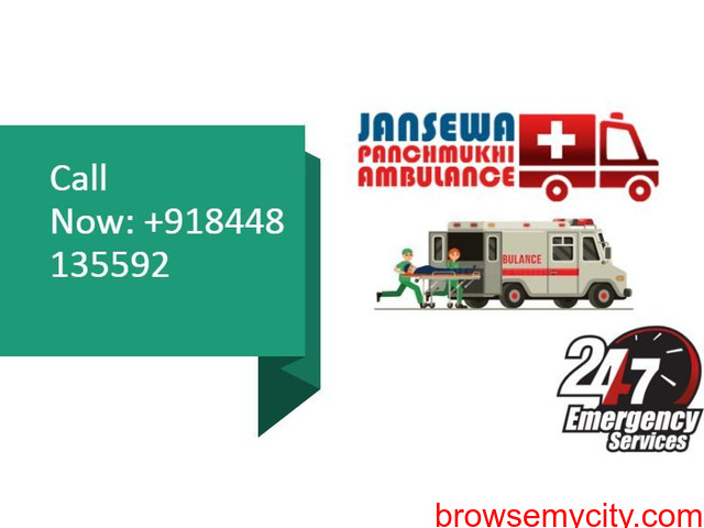 Book Road Ambulance Service in Mokama with Superb Medical Treatment - 1/1