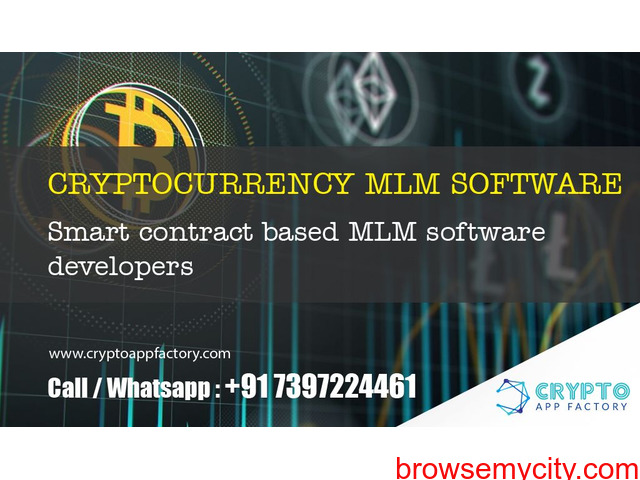 Cryptocurrency MLM Software and Smart contract based MLM System developers- crypto app factory - 1/1