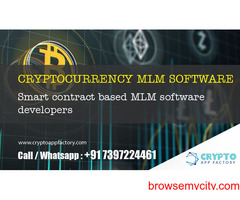 Cryptocurrency MLM Software and Smart contract based MLM System developers- crypto app factory