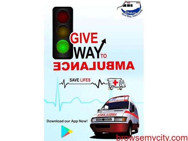 Give Way, Save Life   Saving Lane - 1/1