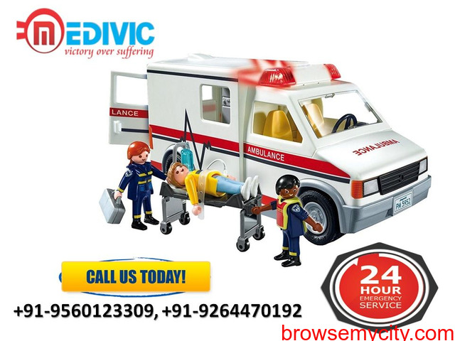 Select Top-Class Rescue by Medivic Ambulance Service in Patna - 1/1