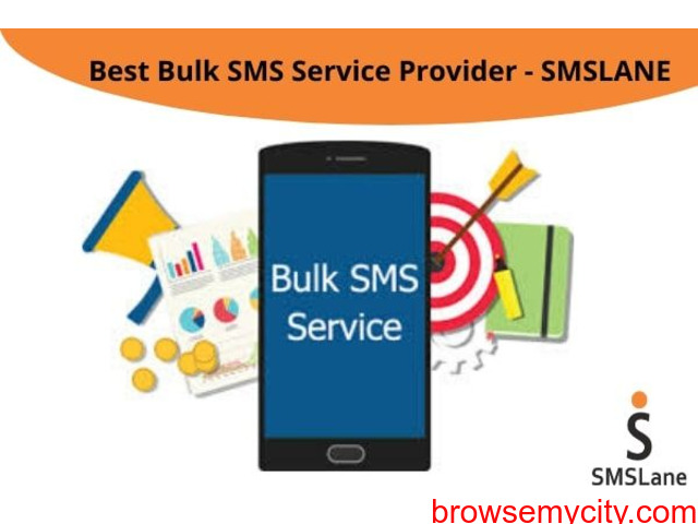 Best Bulk SMS Service Provider - SMSLane - 1/1