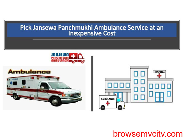 Use Ambulance Service in Boring Road with Suitable Medical Services - 1/1