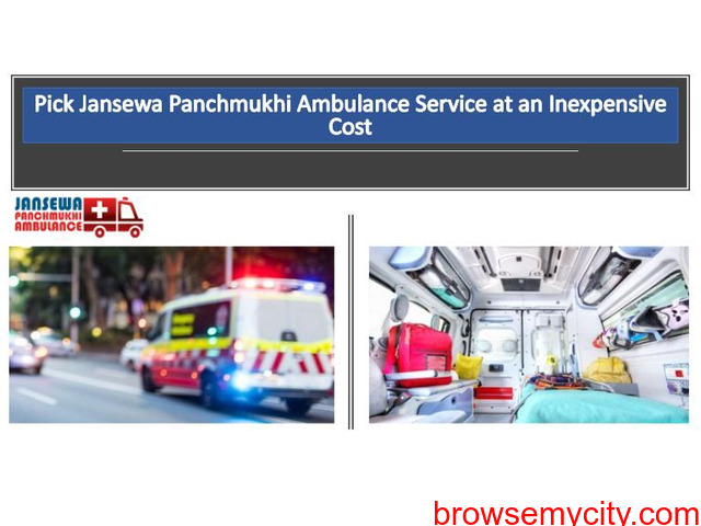 Get Highly Advanced Ambulance in Sri Krishnapuri by Jansewa Panchmukhi - 1/1