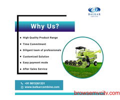 Most Trusted and Best Combine Harvester Manufacturer
