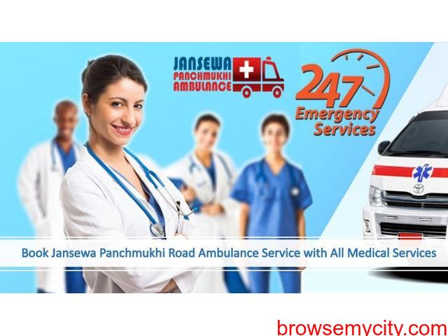 Utilize Ambulance Service in Saket with Entire Medical Solution - 1/1