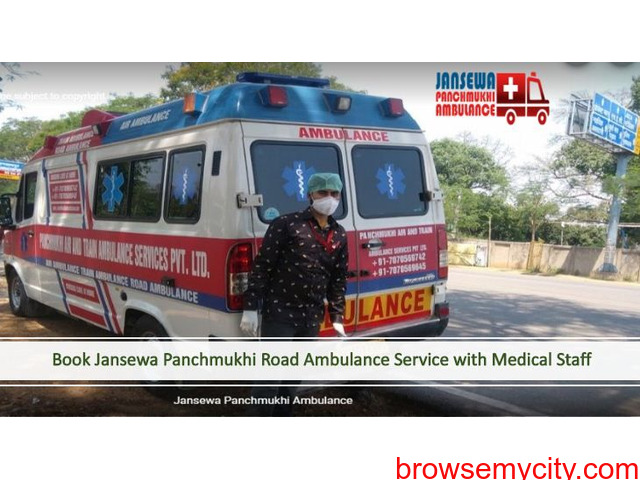 Book Ambulance Service in Mayur Vihar with Essential Medical Aid - 1/1