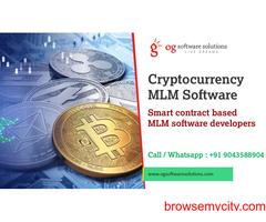 Cryptocurrency MLM Software and Smart contract based MLM System developers- OG software solutions