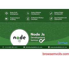 NodeJS Web Development Services Company | Baniwal Infotech