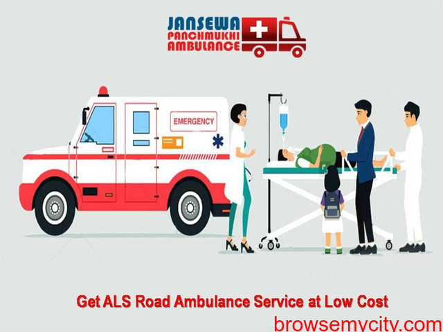 Choose Low-Cost ICU Ambulance Service in Sipara - 1/1