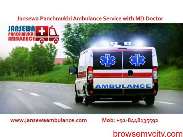 Take Ambulance Service in Mangolpuri with Reliable Medical Team - 1/1