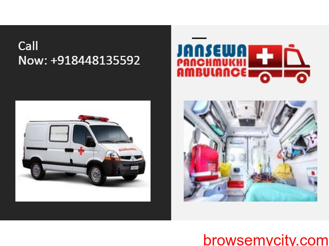 Take Benefit of Ambulance Service in Janakpuri with Full Medical Services - 1/1