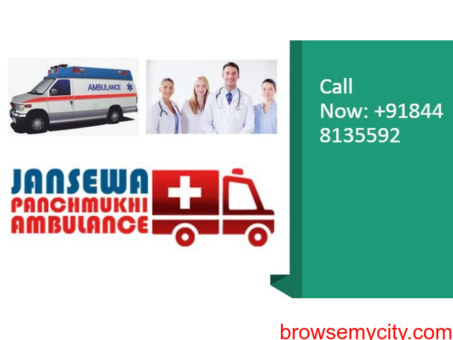 Use Ambulance Service in Chattarpur on a Low-Budget by Jansewa Panchmukhi - 1/1