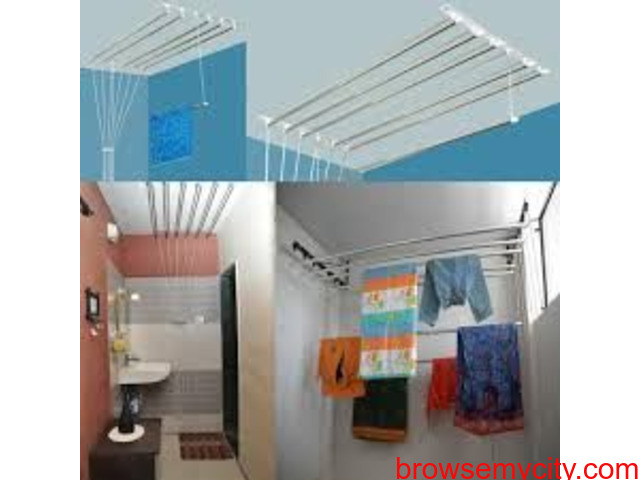 Clothes Drying Roof Hanger Near Ramky One Astra, Call 09290703352 NCC Urban One, Fortune Homes - 3/5