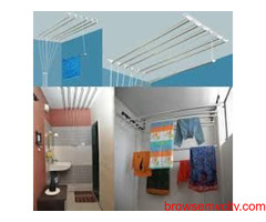 Clothes Drying Roof Hanger Near Ramky One Astra, Call 09290703352 NCC Urban One, Fortune Homes