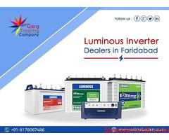 Buy Luminous Inverter Battery Online in Faridabad