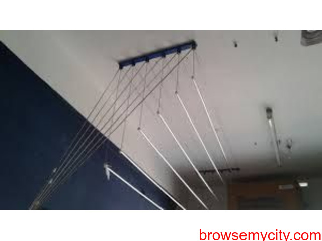 Cloth Drying Hanger Near Hashmatpet Call 09290703352 - Mallikarjuna Colony, - 3/6