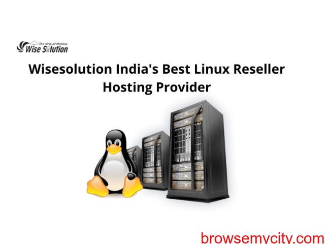 Wisesolution India's best Linux Reseller Hosting Provider - 1/1