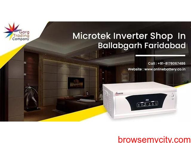 Buy Online Microtek Inverter in Ballabgarh, Faridabad - 1/1