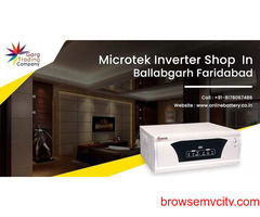 Buy Online Microtek Inverter in Ballabgarh, Faridabad