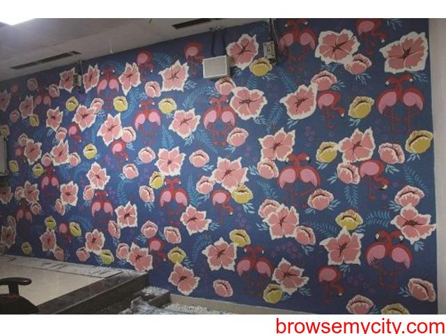Wall Art | Graffiti Walls | Theme Wall Painting | Wall Murals | Street Art in Delhi NCR - 2/6