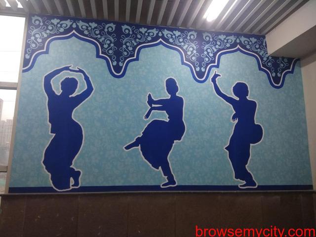 Wall Art | Graffiti Walls | Theme Wall Painting | Wall Murals | Street Art in Delhi NCR - 4/6
