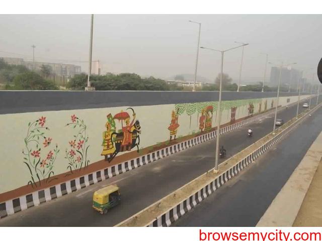 Wall Art | Graffiti Walls | Theme Wall Painting | Wall Murals | Street Art in Delhi NCR - 5/6