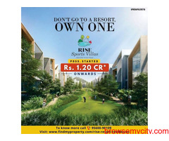 Don't Go to a Resort, own one. Now book your Dream Resort Villa on an Apartment Cost