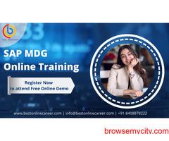SAP MDG Online Training | SAP MDG Course