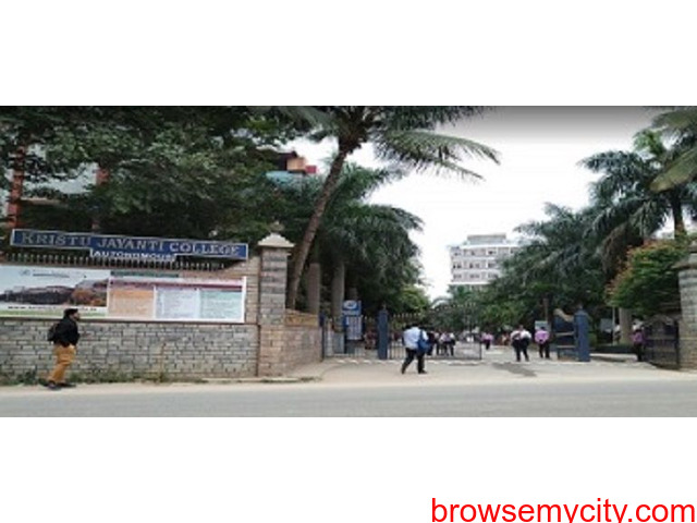Get update about direct admission for MBA in Kristu Jayanti college in 2020-21 - 1/1