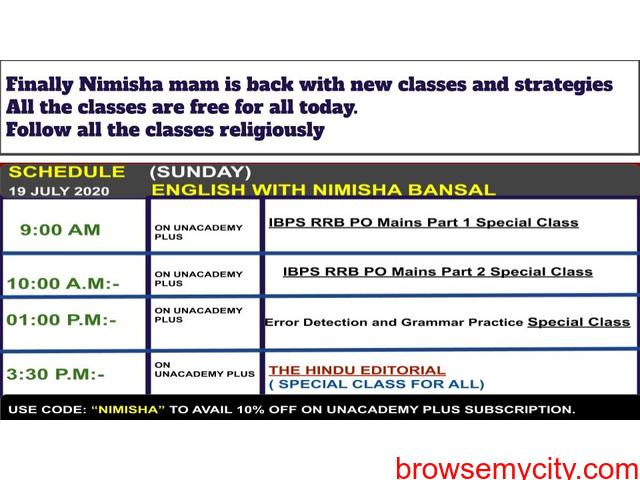 Learn with the Best English Educator on Unacademy – Nimisha Bansal - 1/1