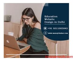Hire Cheap Web Developer for Education Website Design in Delhi