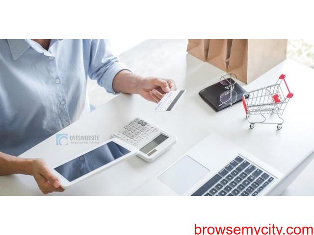 Ecommerce Website Development Cost In India - Oyes Website - 1/1