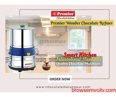 Shop Online Premier Chocolate Refiner Machine | chocolatemelangeur.com