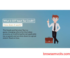 GST input tax credit facts