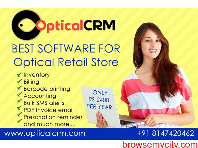 Optical CRM Software for retail stores - 5/6