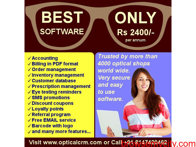 Optical CRM Software for retail stores - 6/6