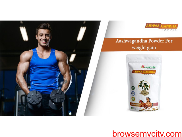 Aashwagandha Powder For Weight - 1/1