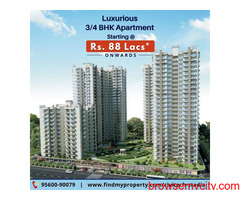 Ready to move in Apartment starts from Rs. 88 lacs*