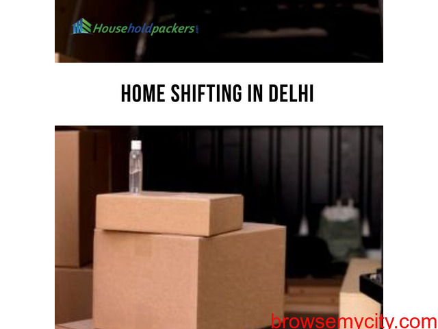 Home Shifting Services in Delhi - 1/1