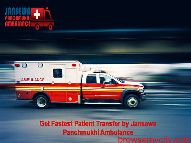 Select Complete ICU Based Road Ambulance Service in Patna - 1/1