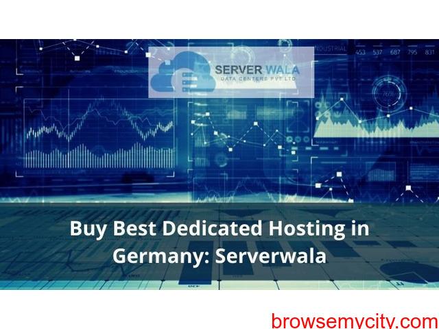 Buy Best Dedicated Hosting in Germany: Serverwala - 1/1