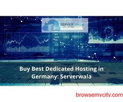 Buy Best Dedicated Hosting in Germany: Serverwala