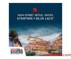 Now Book Hi-street Retail shops with price starting from Rs. 30.25 Lakhs*