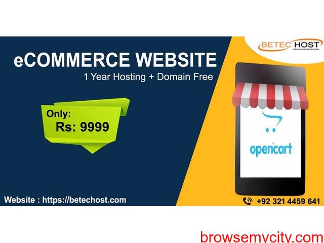 eCommerce Web Development in Lahore - 2/2