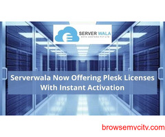 Serverwala Now Offering Plesk Licenses With Instant Activation