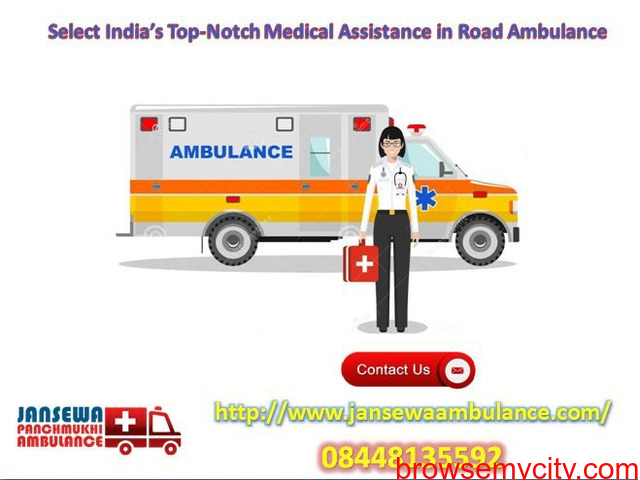 Receive Ambulance Service in Chattarpur with Top-Notch Medical Support - 1/1