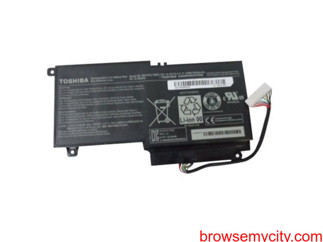 Batterie originale Toshiba PA5107U-1BRS, P000573230, PA5107U 14.4V 2838mAh - 1/1