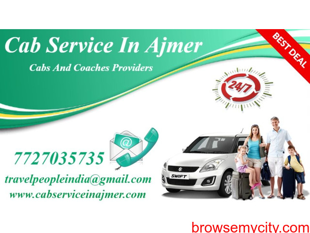 Tempo Traveller Hire in Ajmer , Best Rajasthan Tour Package , Ajmer Cab - 5/6