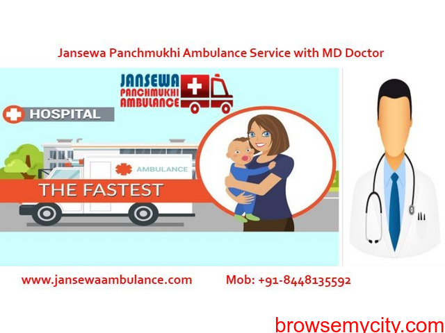 Obtain Ambulance Service in Samastipur with Top Healthcare Services - 1/1
